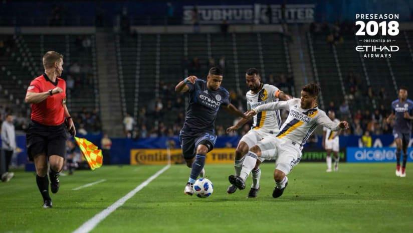 NYCFC LA Galaxy Recap Friendly