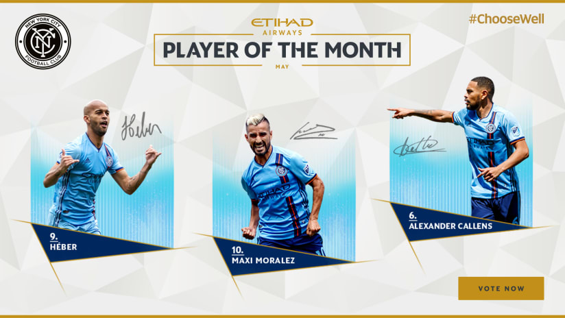 Player of the Month May