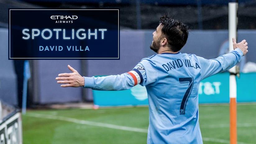 Spotlight David Villa