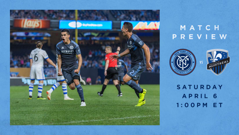 NYCFC vs Montreal Impact Match Preview
