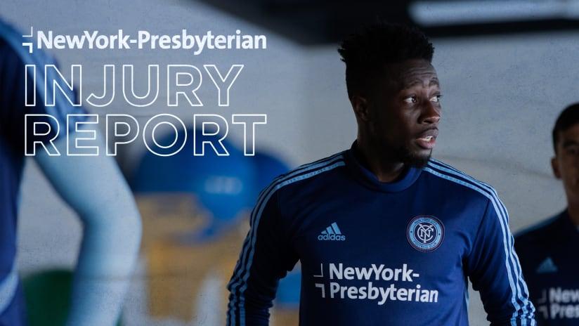 Injury Report NYP LA Galaxy