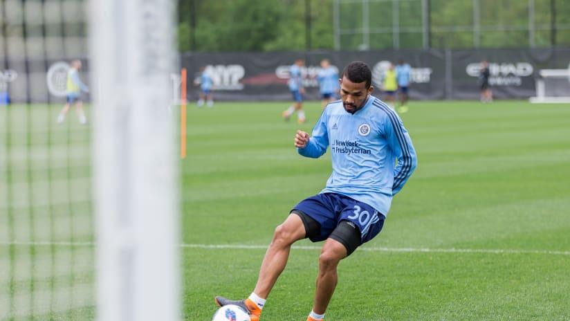 Yangel Herrera Training