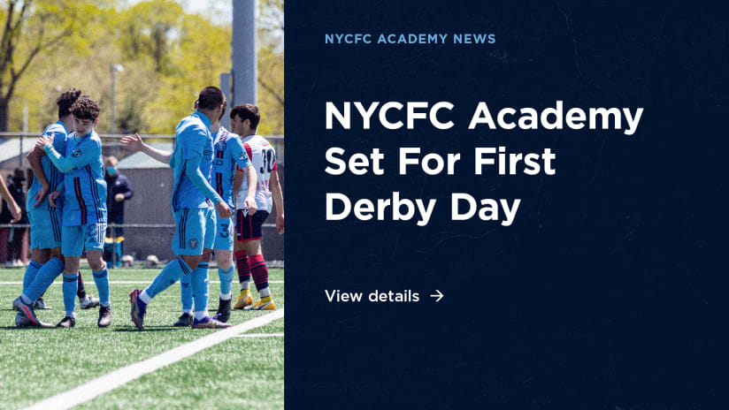 NYCFC and Red Bulls Announce the First Derby Day