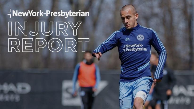 Injury Report @ Montreal Impact