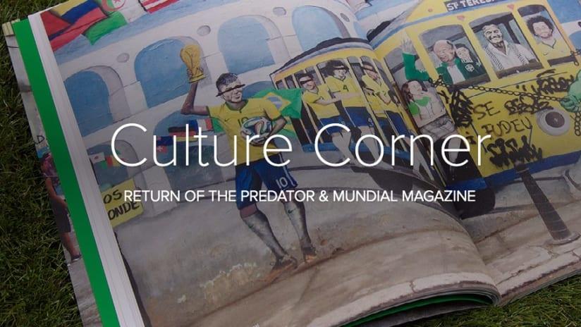 Culture Corner: Return of the Predator - Culture Corner