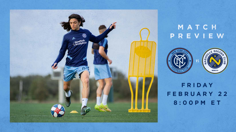 Match Preview NYCFC Nashville