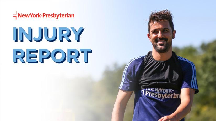 Injury Report NYCFC