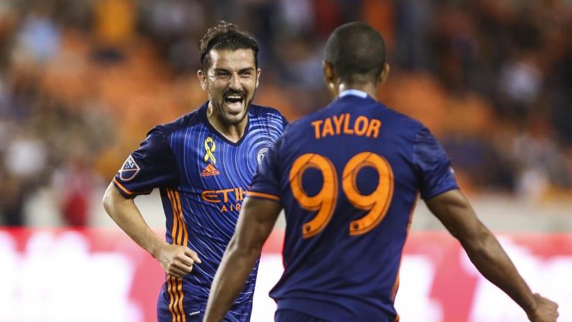 David Villa vs Houston Dynamo - 9/30 IMAGE 3