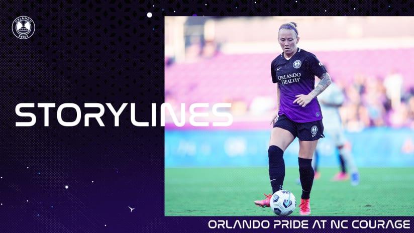 Storylines | Orlando Pride at NC Courage