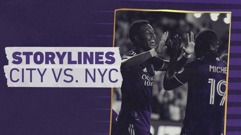 Storylines | City vs. NYCFC
