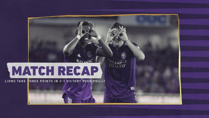 Michel, Perea Score for the Lions in 2-1 Victory Over Philadelphia