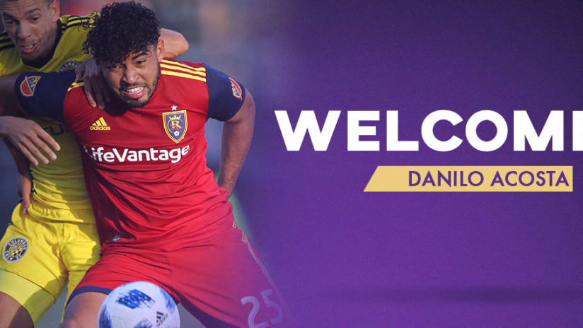 Orlando City SC Acquires Defender Danilo Acosta on Loan