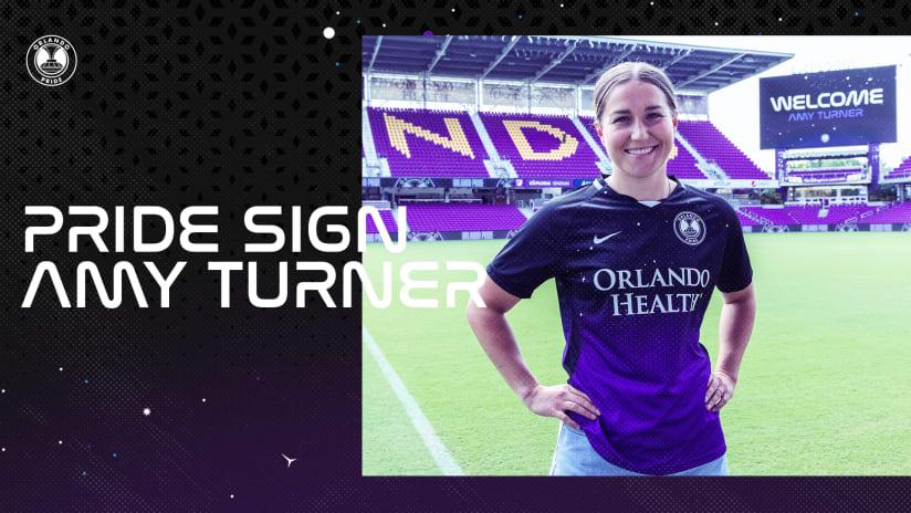 Orlando Pride Signs English International Amy Turner