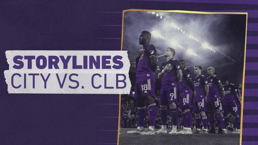 Storylines | City vs. Columbus Crew