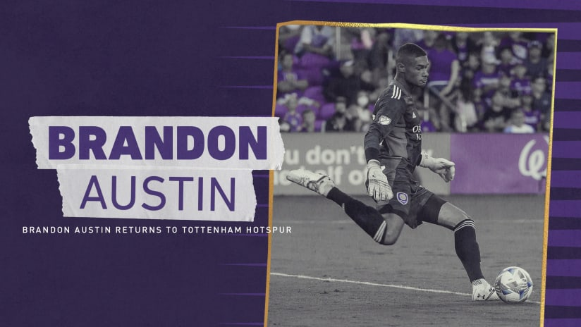 Goalkeeper Brandon Austin Returns to Tottenham Hotspur