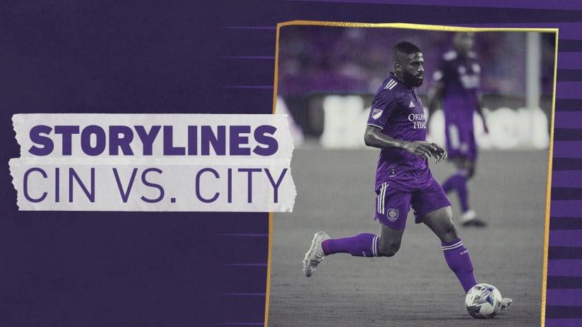 Storylines: City vs. FC Cincinnati