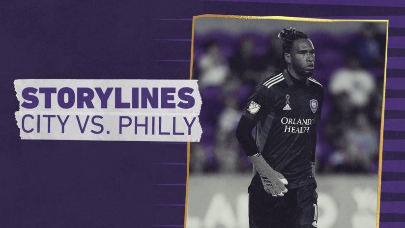 Storylines | City vs. Philadelphia Union