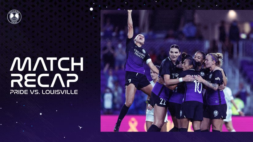 Pride Claim All Three Points in 3-1 Win Over Racing Louisville