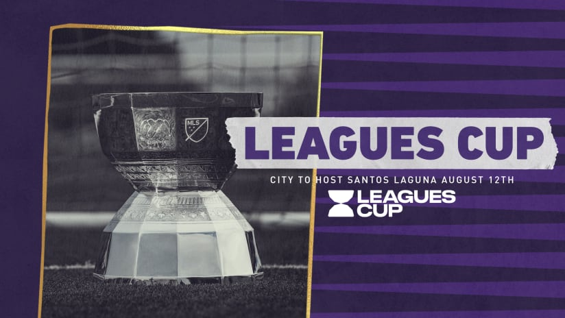 Orlando City SC to Host LIGA MX side Santos Laguna in 2021 Leagues Cup