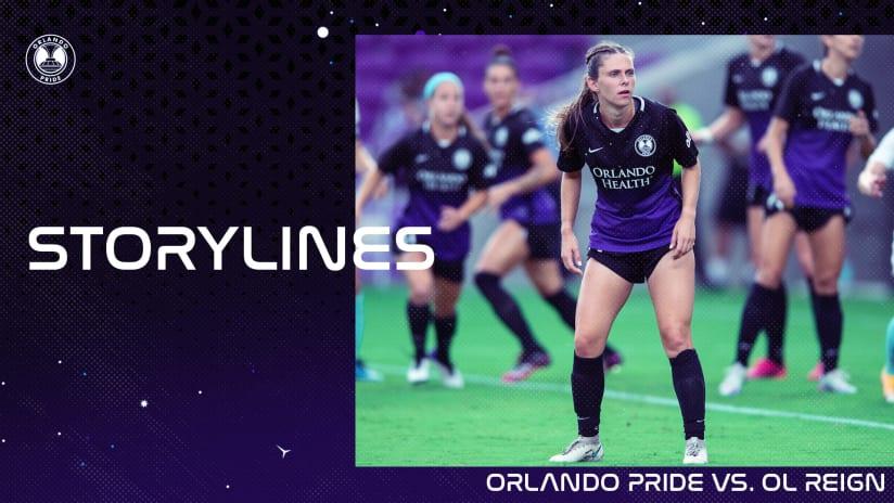 Storylines | Orlando Pride vs. OL Reign