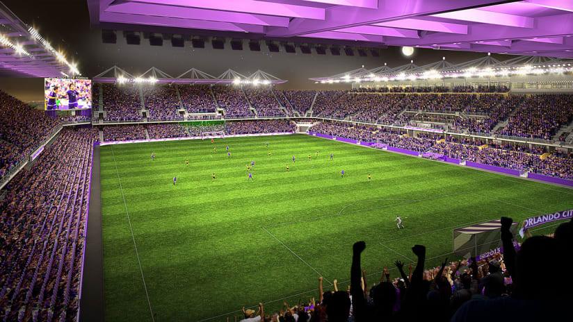 Stadium Rendering Story