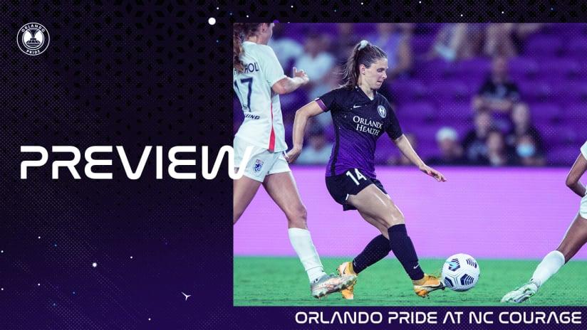Match Preview | Orlando Pride at North Carolina Courage