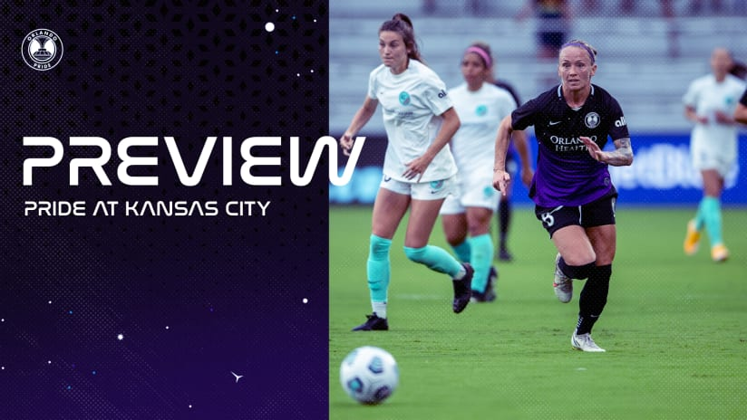 Preview | Orlando Pride Travels to Kansas City on Wednesday for Midweek Match