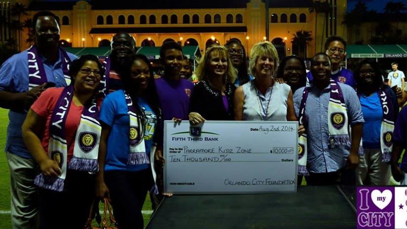 OCF donates $10,000 to PKZ