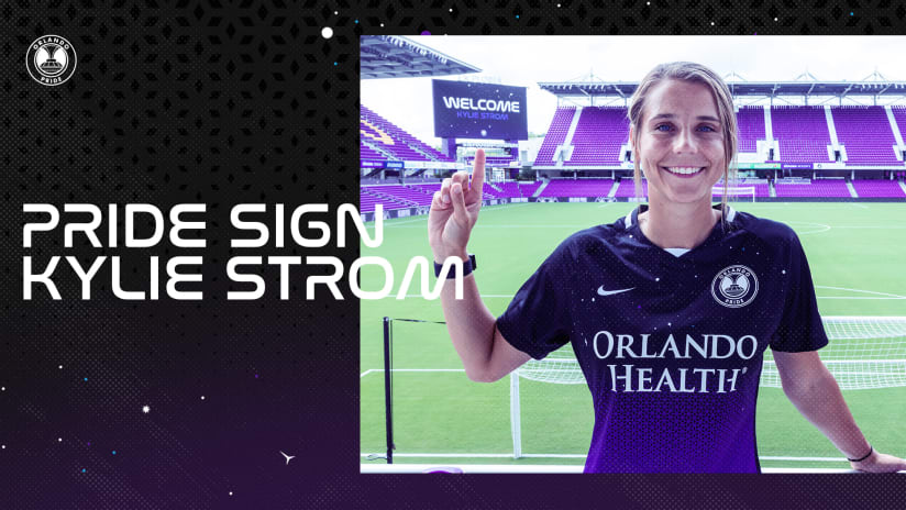 Orlando Pride Acquires Defender Kylie Strom