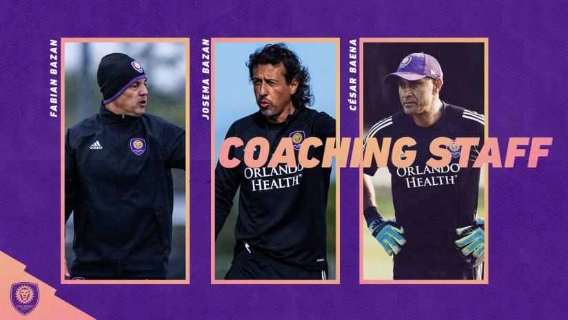 Orlando City SC Announces First Team Technical Staff Ahead of 2020 Season