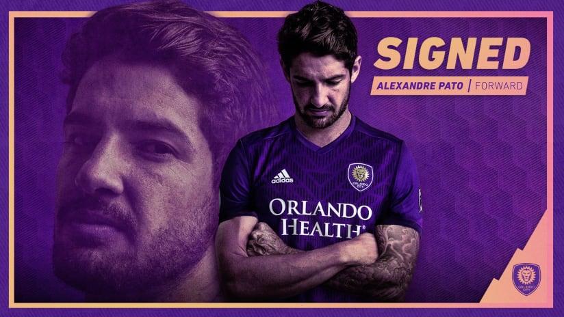 Orlando City SC Signs Brazilian Forward Alexandre Pato