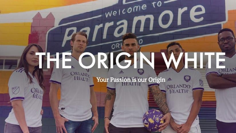 The NEW Origin White   Available Today - THE ORIGIN WHITE