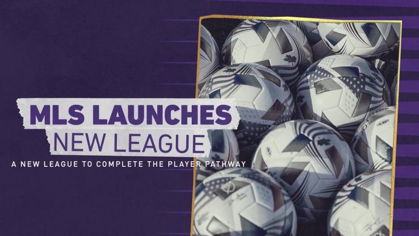 Major League Soccer Launches New Professional League