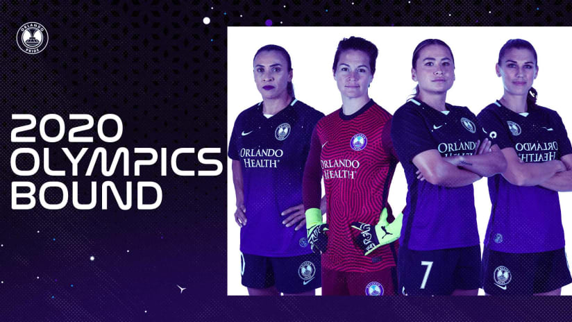 Four Orlando Pride Players Toyko Bound for 2020 Olympic Games