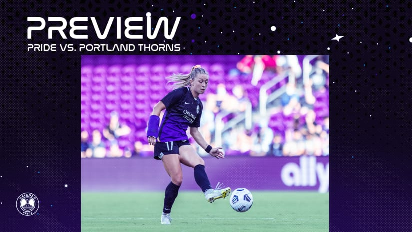 Preview | Orlando Pride Welcomes Portland Thorns FC in Midweek Matchup
