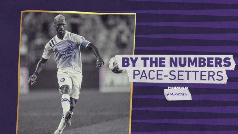 By The Numbers: Pace-setters