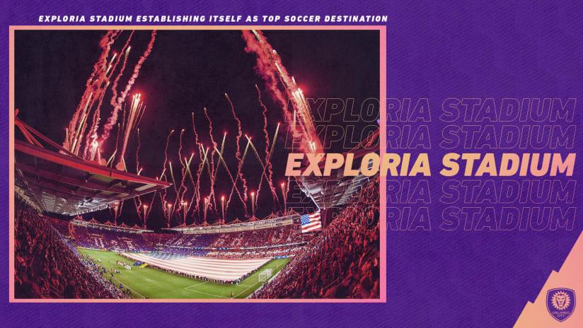 Exploria Stadium Establishing Itself as Top Soccer Destination