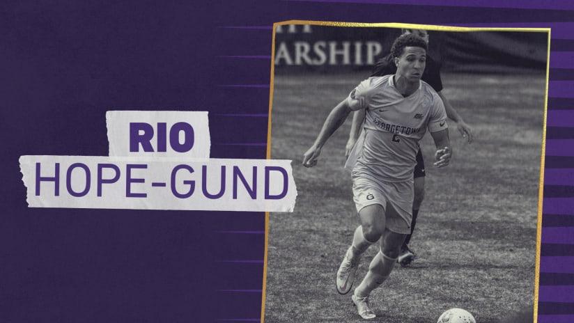 Orlando City SC Signs 2021 MLS SuperDraft Selection Rio Hope-Gund