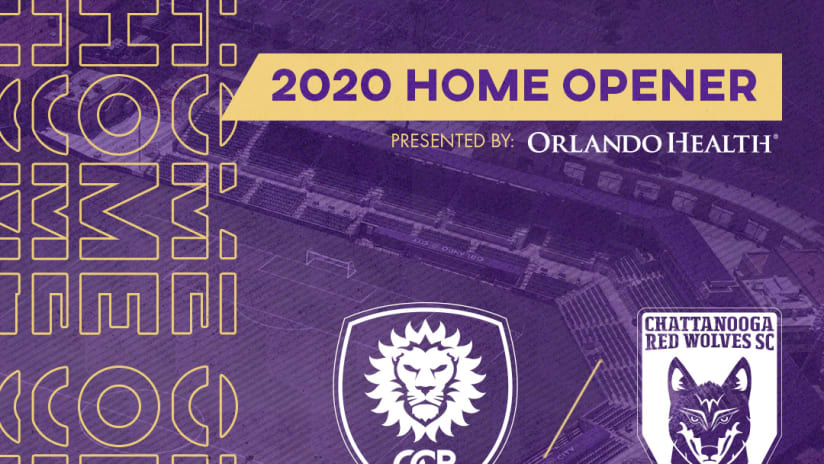 Orlando City B to Host Chattanooga Red Wolves on April 11 in 2020