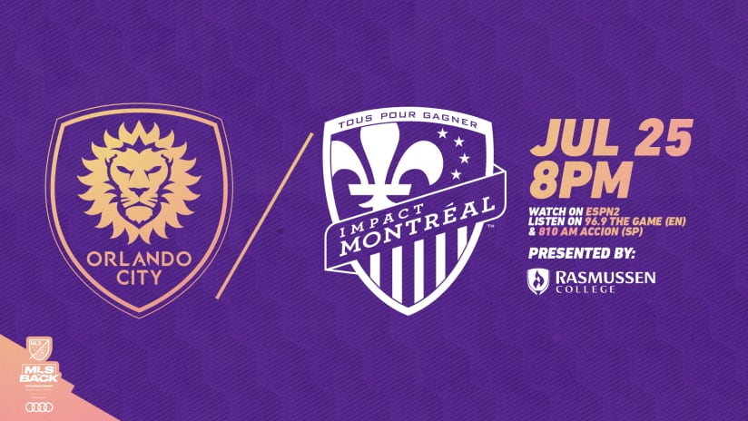 Orlando City Face Montreal Impact in Round of 16 Matchup