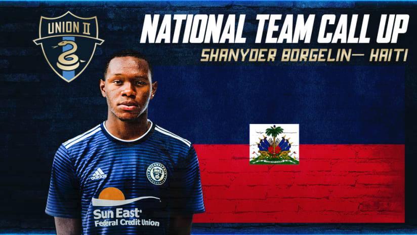 Union 2's Shanyder Borgelin Receives International Call-Up