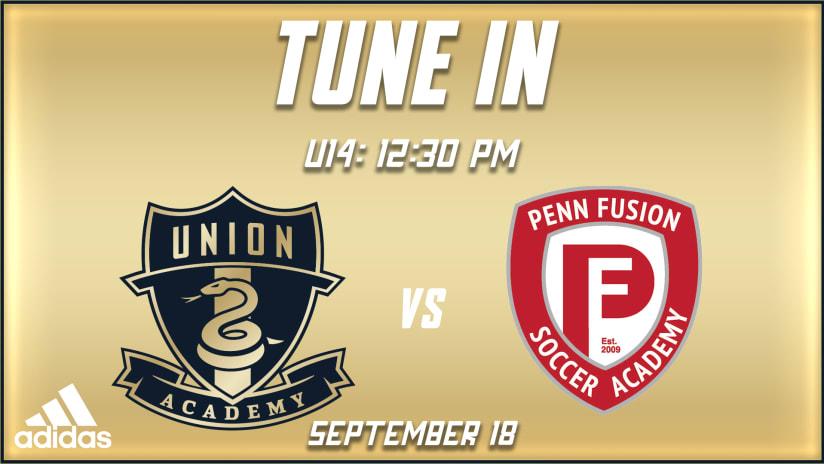 Watch | U14s vs. Penn Fusion U15