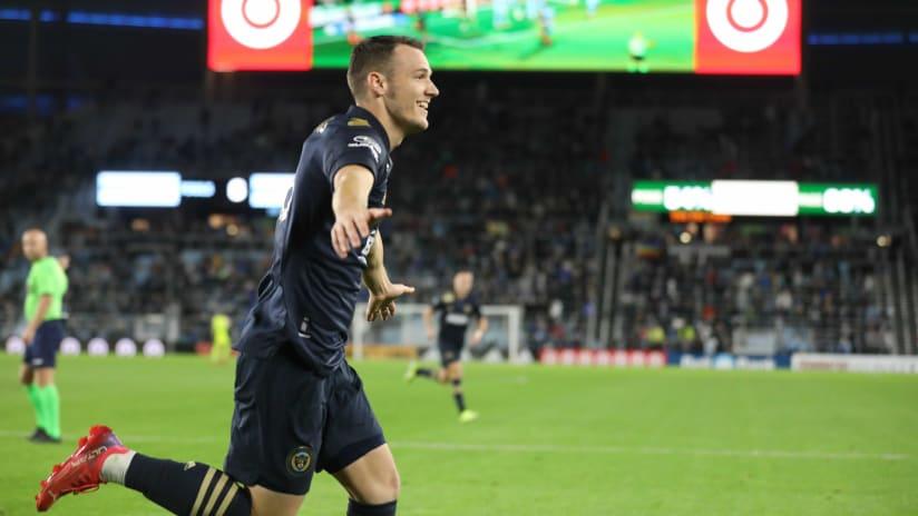 Daniel Gazdag named to MLS Team of the Week bench