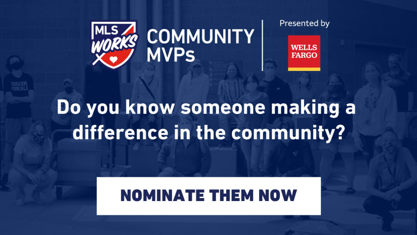 MLS and Wells Fargo Recognize 27 Community MVPs; Contribute Nearly $70,000 to Local Charitable Organizations