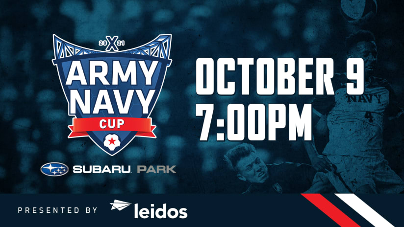 Army-Navy Cup X Returns To Subaru Park On October 9