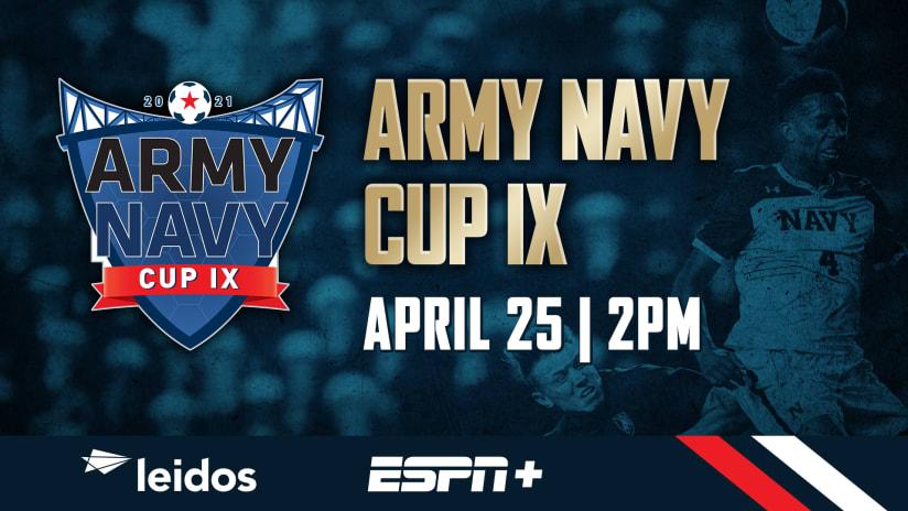 Army-Navy Cup IX Returns To Subaru Park On April 25