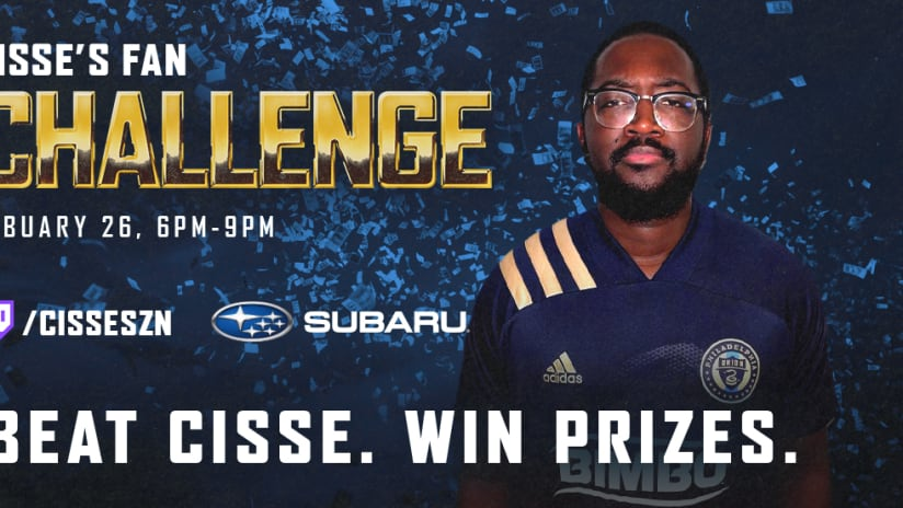 Cisse's Fan Challenge presented by Subaru set for Friday evening