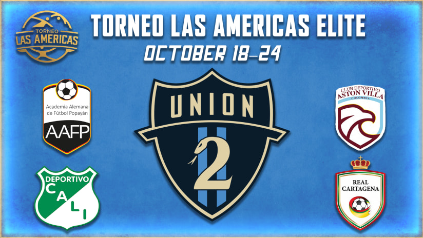 Union II to compete at Torneo Las Americas Elite in Colombia