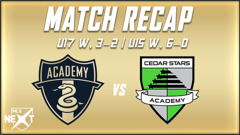 Union Academy completes sweep of CSA