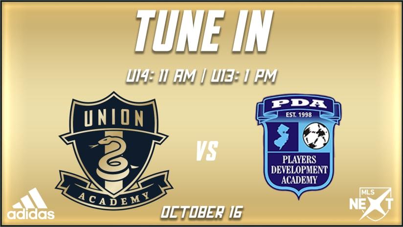 Tune In | U14s and U13s host PDA in MLS NEXT